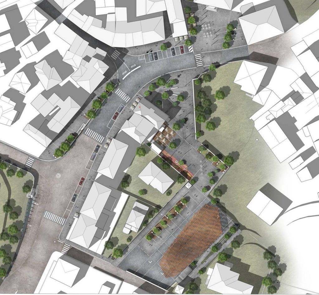 Progetto di rigenerazione urbana e sostenibile per il centro di Casina Capoluogo