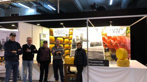 Il Parmigiano Reggiano di Casina al Cheese Awards in Norvegia