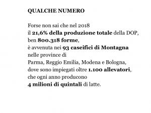 53^ Fiera del Parmigiano Reggiano di Montagna, 2-5 agosto 2019