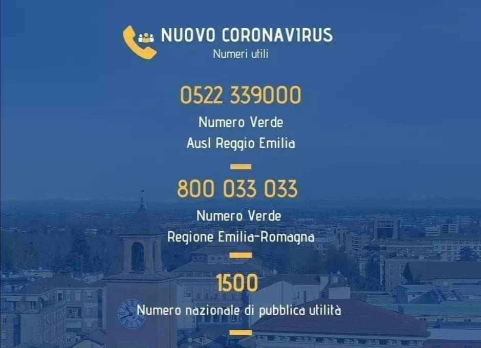 #Coronavirus. Aggiornamento del 25 febbraio 2020 - Ore 12.30
