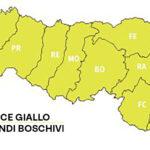 Incendi boschivi: fino al 18 aprile codice giallo su tutta la regione