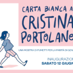 "Mostra e workshop ""Carta bianca a Cristina Portolano"""