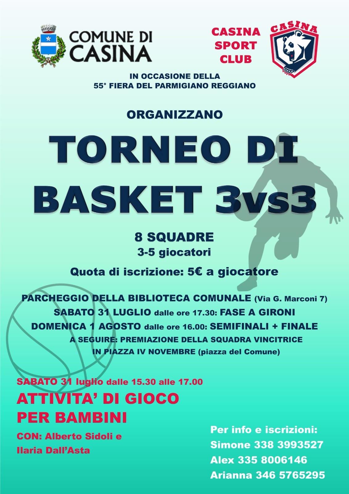 Torneo di basket 3vs3