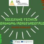 GAL - Avviso ad evidenza pubblica per la selezione di 1 tecnico agronomo/agroforestale